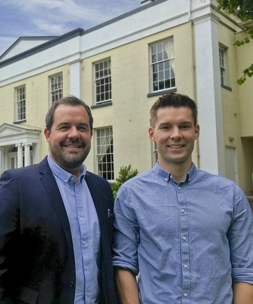 Warrington Guardian: No Brainer founders Gary Jenkins (l) and Lee Cullen
