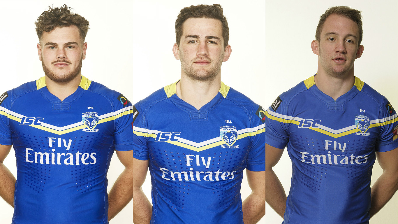 Warrington Wolves trio named in Ireland squad for World Cup qualifiers