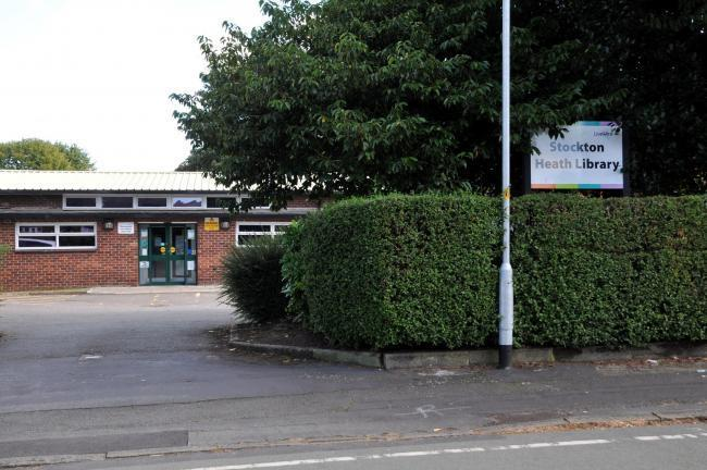 Stockton Heath Library would be replaced with a lending locker under the plans