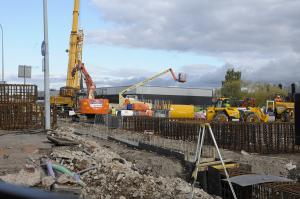 Warrington Guardian: Work starts on new multi-storey car park in the town centre. Click her to see all the pictures