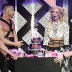 Warrington Guardian: Britney Spears celebrated her 35th birthday with a huge cake and a performance of her greatest hits