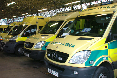 North West Ambulance Service were called to the crash scene