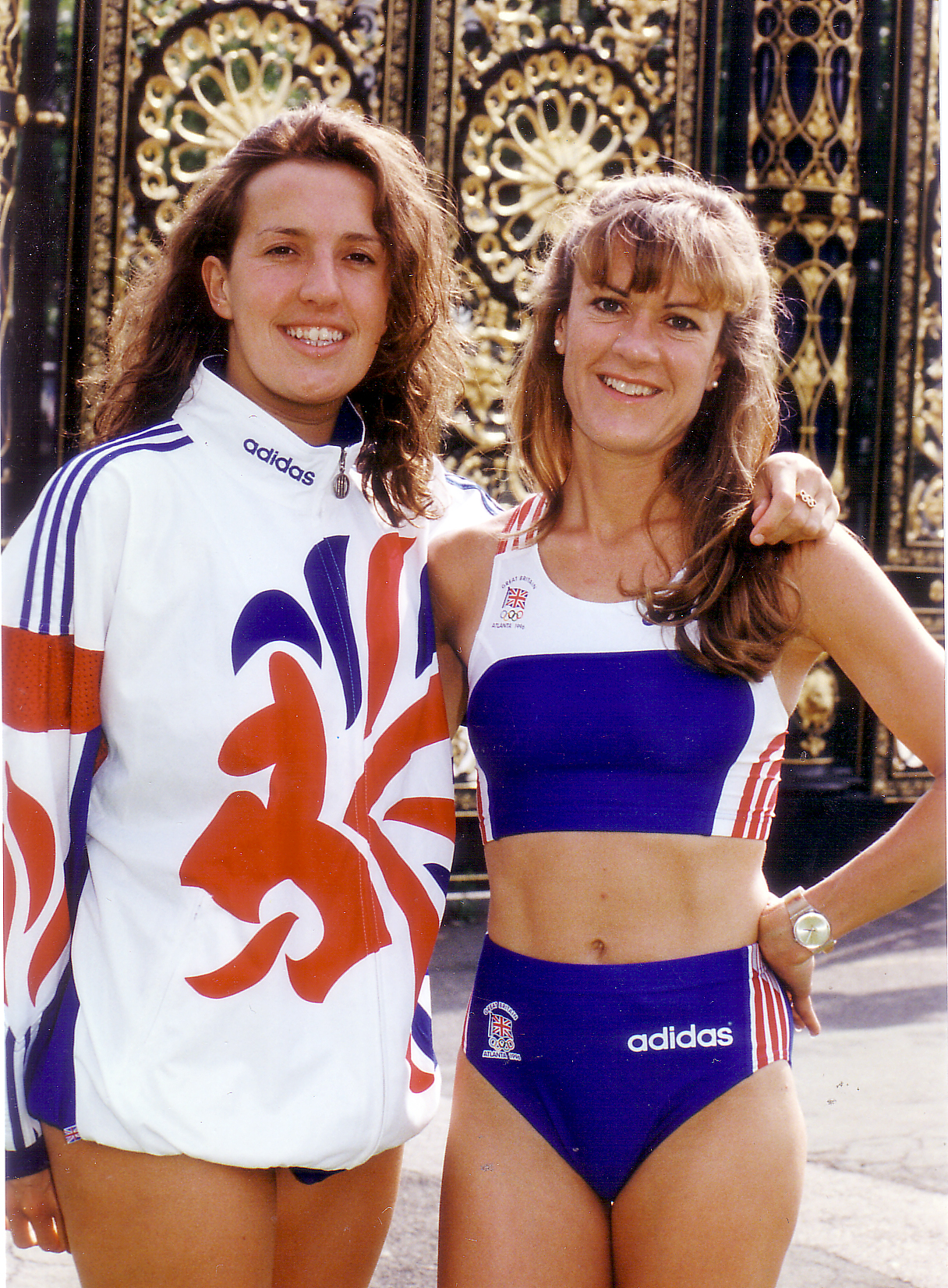 Swimmer Helen Slatter and athlete Suzanne Rigg