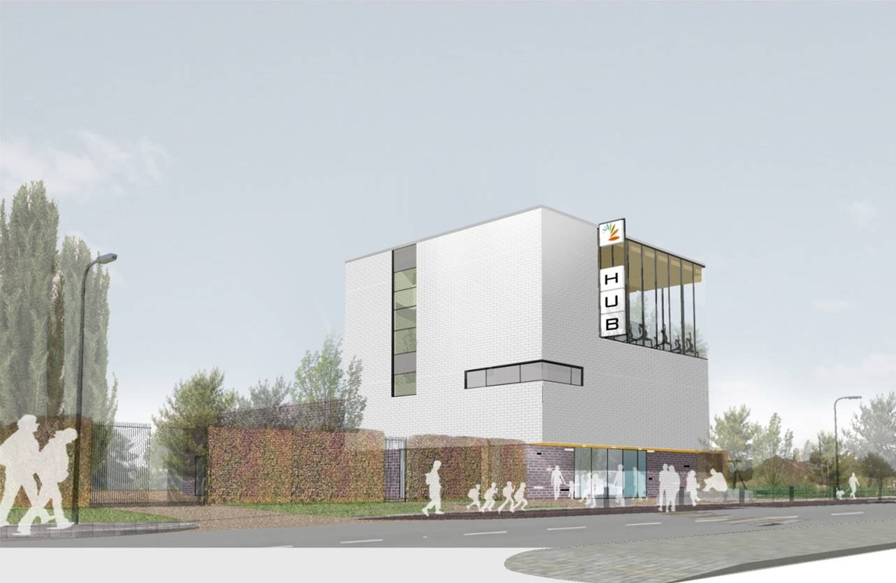 Warrington Borough Council says it is still 'fully committed' to the Bewsey and Dallam Hub project.