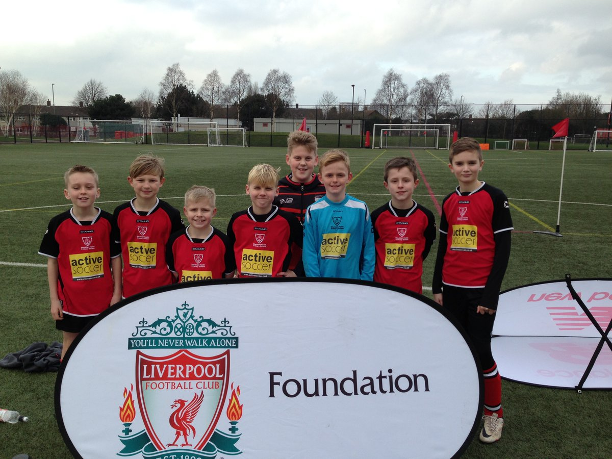 Stockton Heath Primary School pupils made their way to Liverpool FC's academy for the tournament