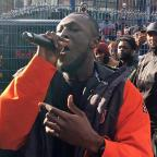 Warrington Guardian: Stormzy throws free gig in Camden park to celebrate new album
