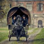 Warrington Guardian: A scene from Peaky Blinders at Arley Hall
