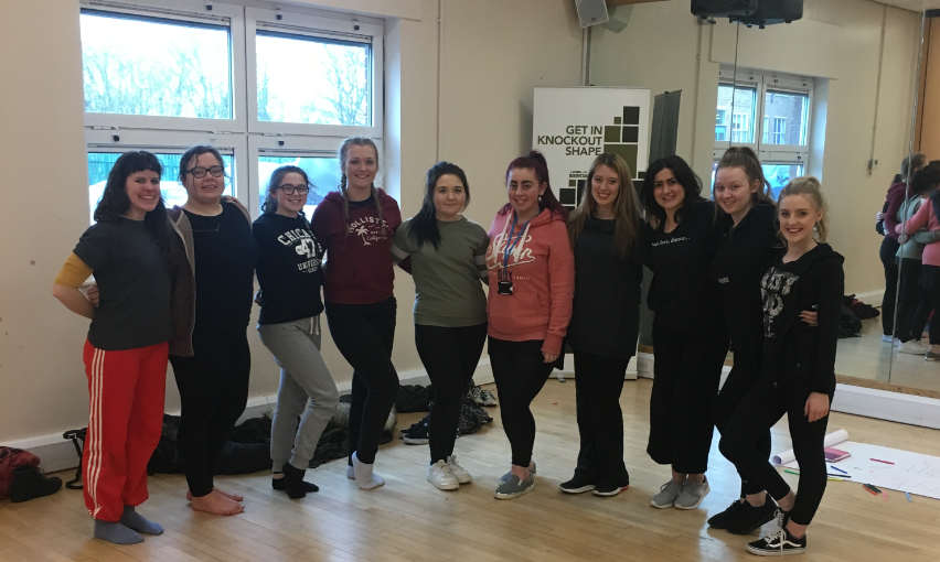 Students at Appleton College enjoyed the free dance workshop from Rambert Dance Company