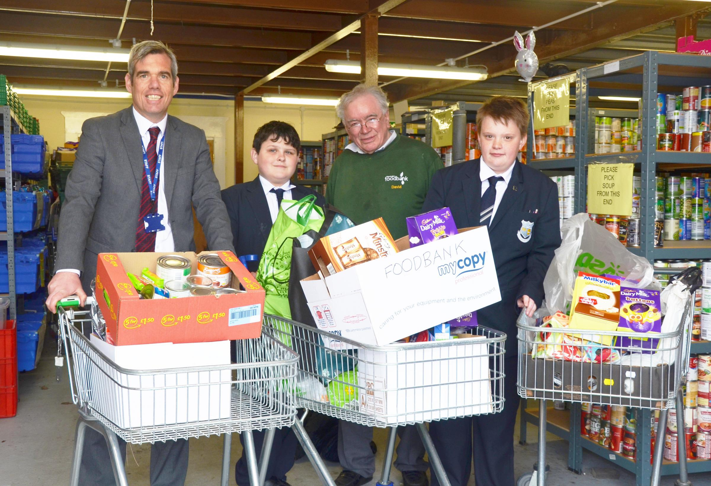Pupils At Birchwood High School Rally Together To Support
