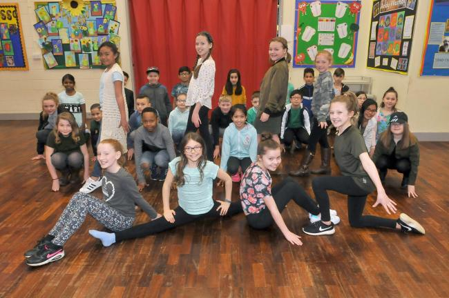 Pupils take the stage to raise vital funds for children with cancer