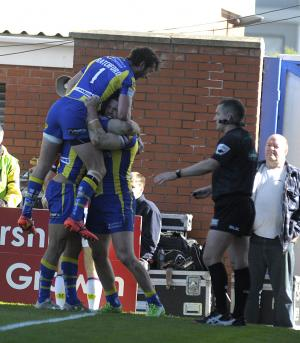 Warrington Guardian: Wow, they left it late against Wakefield but The Wire make it five games unbeaten. Check out the photo gallery