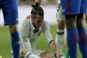 Real Madrid's injured Gareth Bale unlikely to face Atletico in Champions League