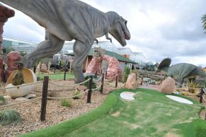 WIN: Family pass for Bents dinosaur-themed mini golf course