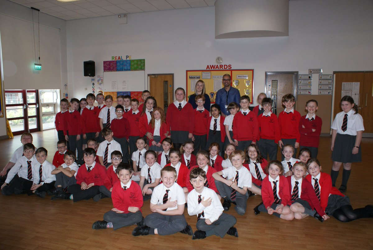 Youngsters at the school enjoyed the 'smart heart' workshop