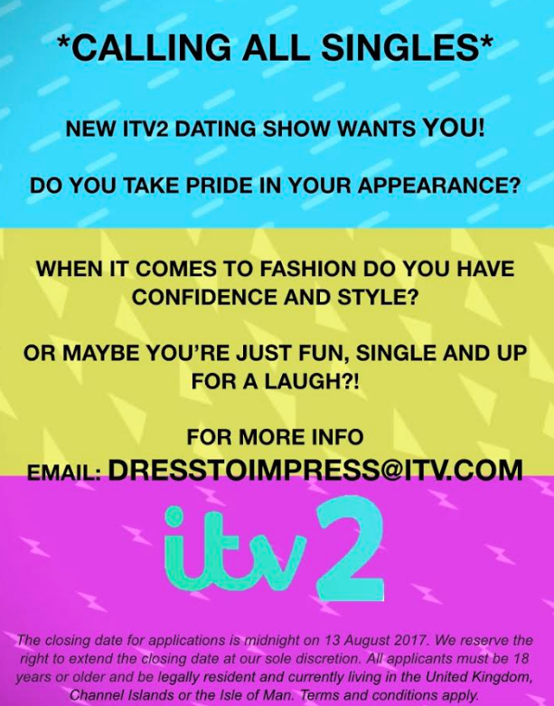 Dating show applications uk