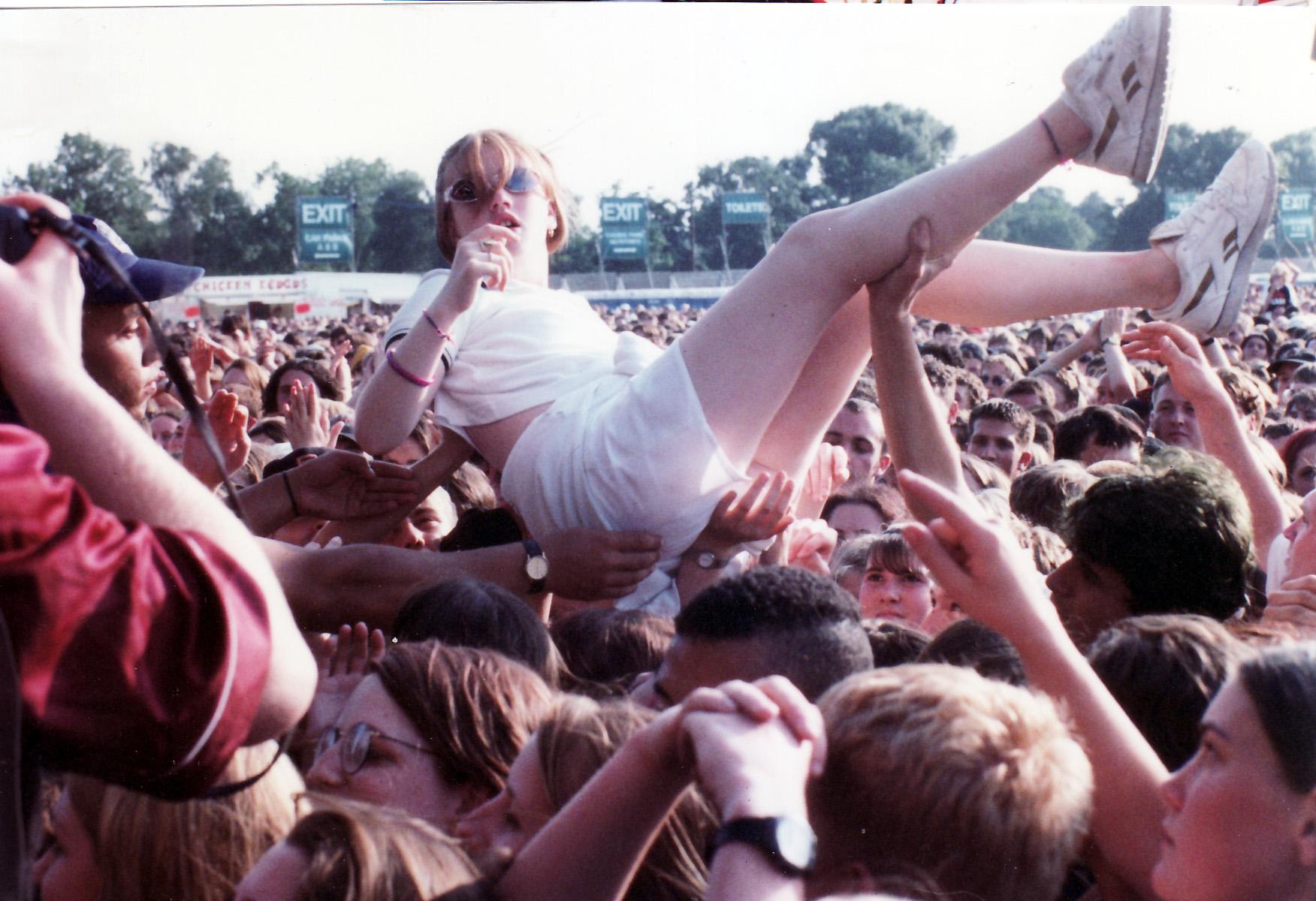 When Warrington was venue for first V Festival