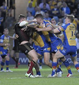 Warrington Guardian: Browse the photo gallery from Wolves' loss at Leeds Rhinos. Click here for details