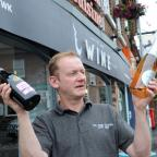 Warrington Guardian: The Wine Kitchen, across the road from The Cross, Lymm  hosting a wine tasting as part of festival  garry Banim.