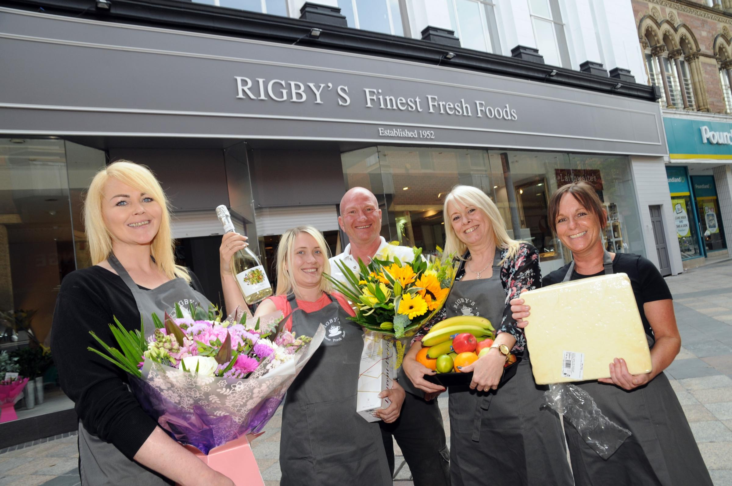 Rigby's Finest Fresh Foods has been ordered to pay more than £50,000 to 12 former employees by a tribunal.