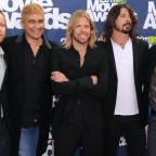 Warrington Guardian: The heat is on for Foo Fighters at Glastonbury, says drummer Taylor Hawkins