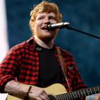 Warrington Guardian: Ed Sheeran hits back after being accused of using a backing track at Glastonbury