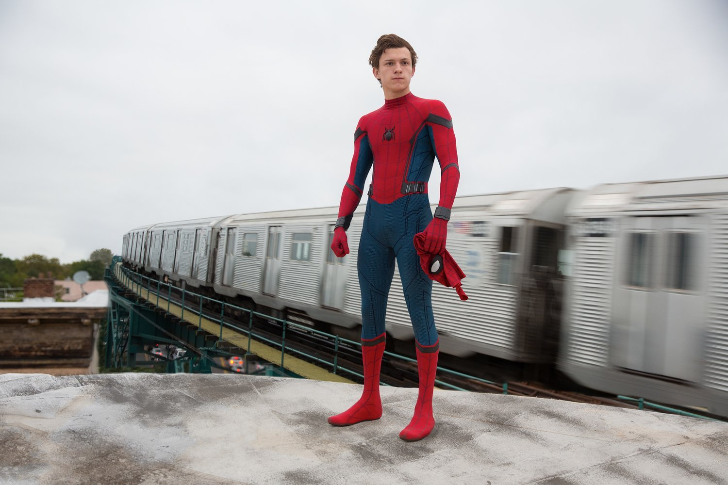 Tom Holland takes the reigns as Spider-Man in Homecoming