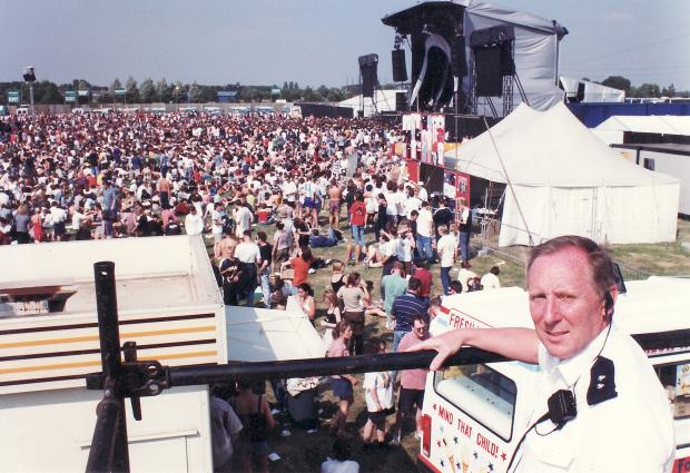 Warrington Guardian: V Festival at Victoria Park in August 1996