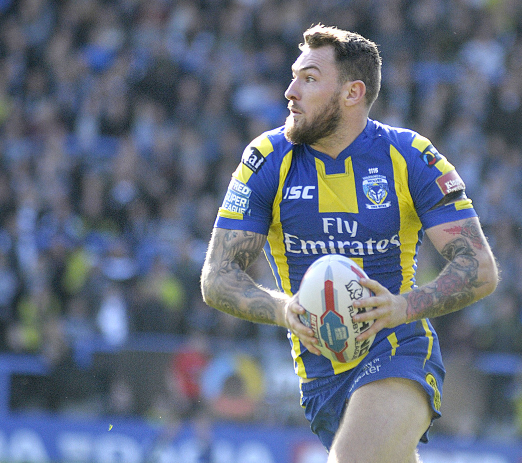 Daryl Clark looks set to feature for Wolves against Rochdale Hornets. Picture by Mike Boden