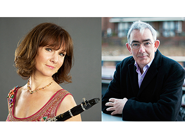 Concert by Emma Johnson (Clarinet) and John Lenehan (Piano)