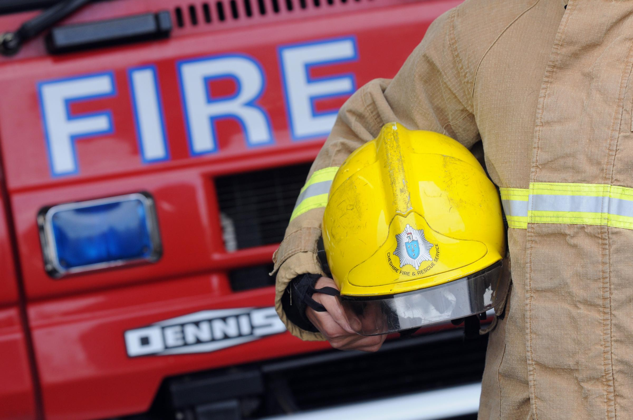 Arsonists start fire in park off Creswell Close in Callands