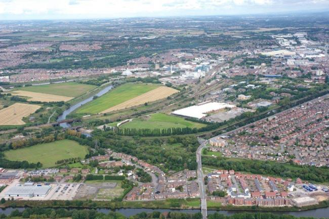 The Western Link is planned to tackle congestion in the town and unlock key development land