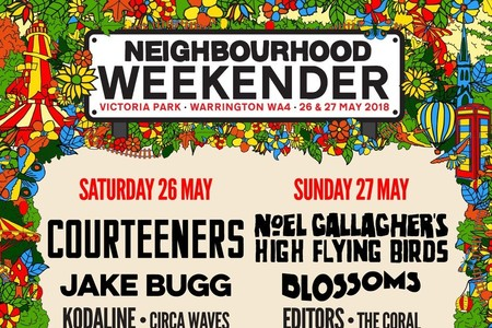 REVEALED: Stage times for Neighbourhood Weekender at Victoria Park