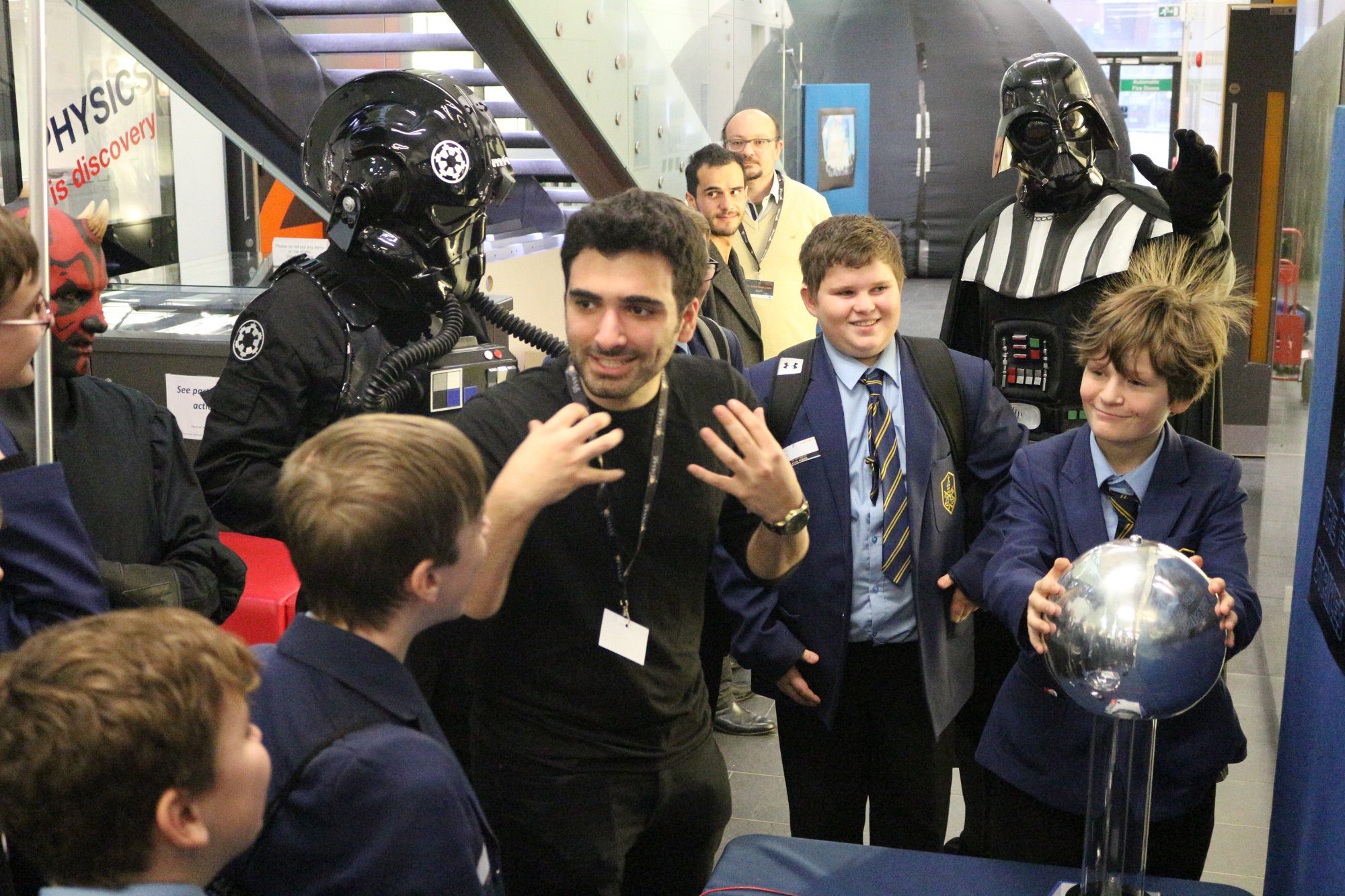 Students from St Gregory's RC learned about Star Wars