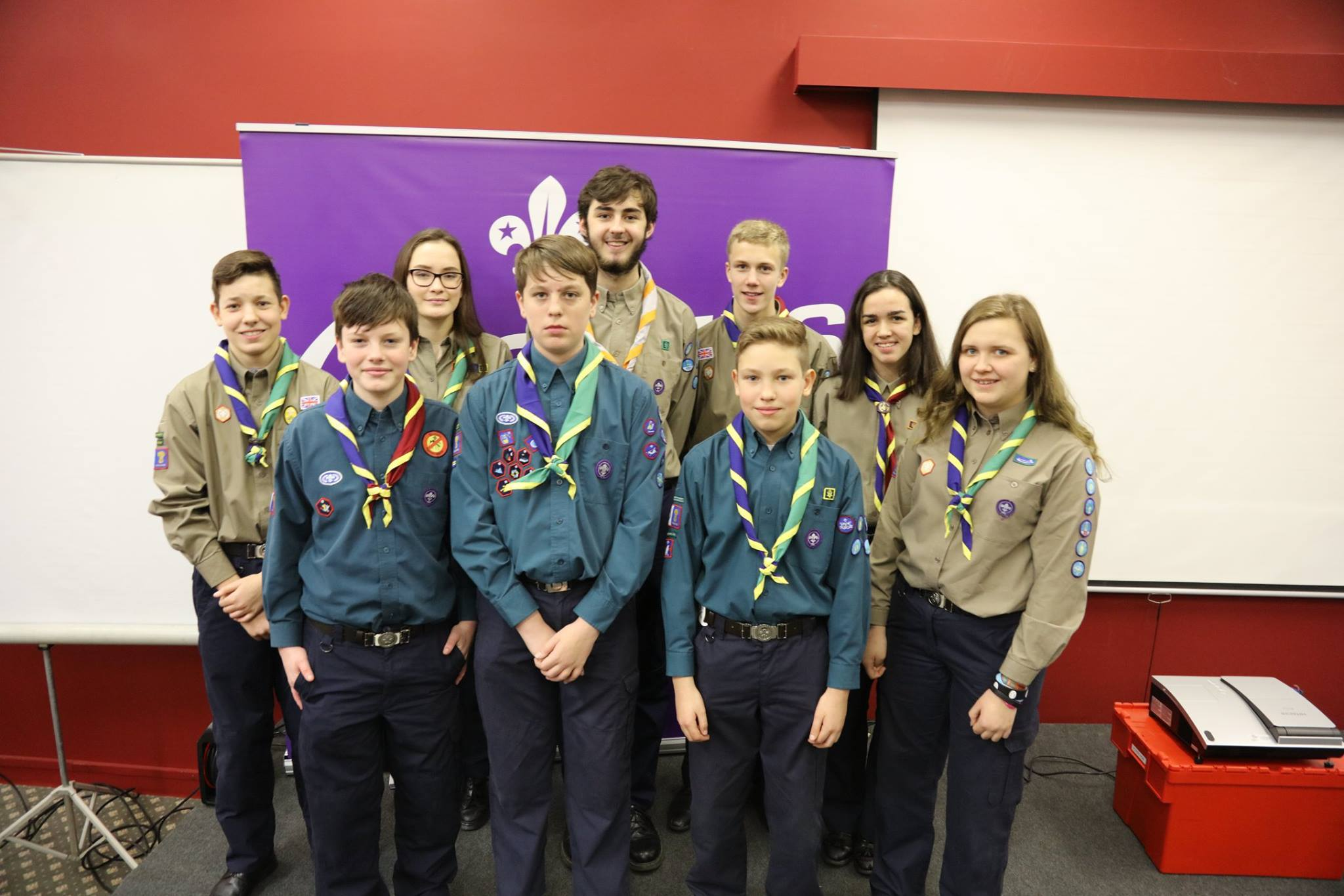 The Warrington West Scouts are raising funds for their trip to West Virginia for the 2019 World Scout Jamboree.