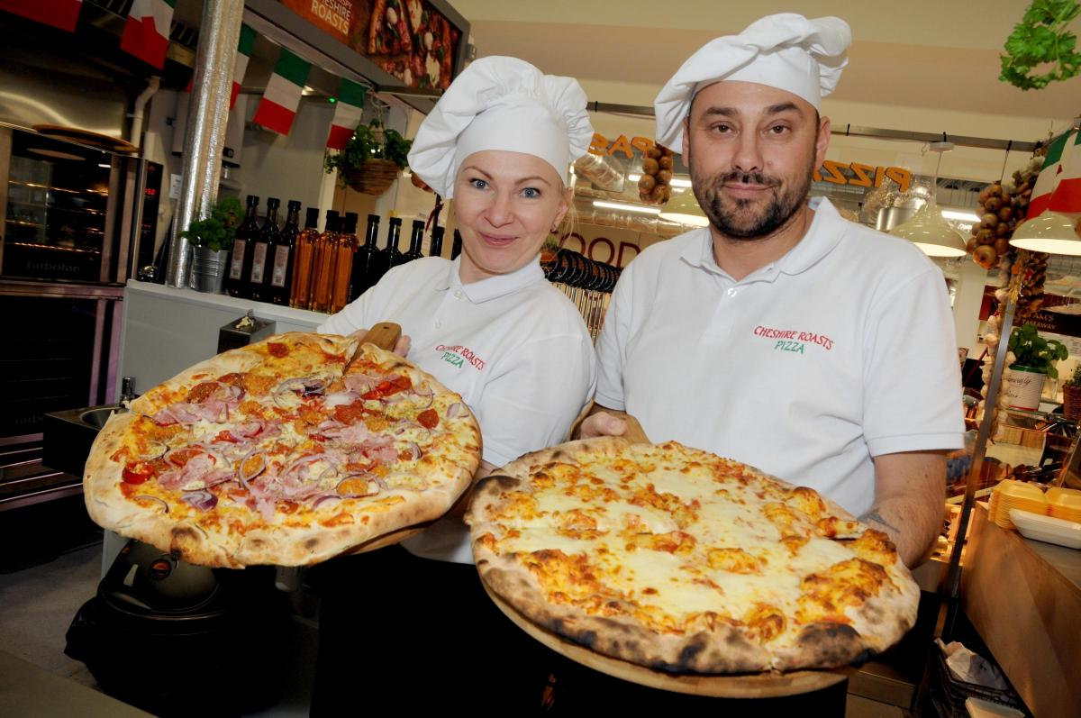 Trader Of The Week A Pizza The Action With Cheshire Roasts