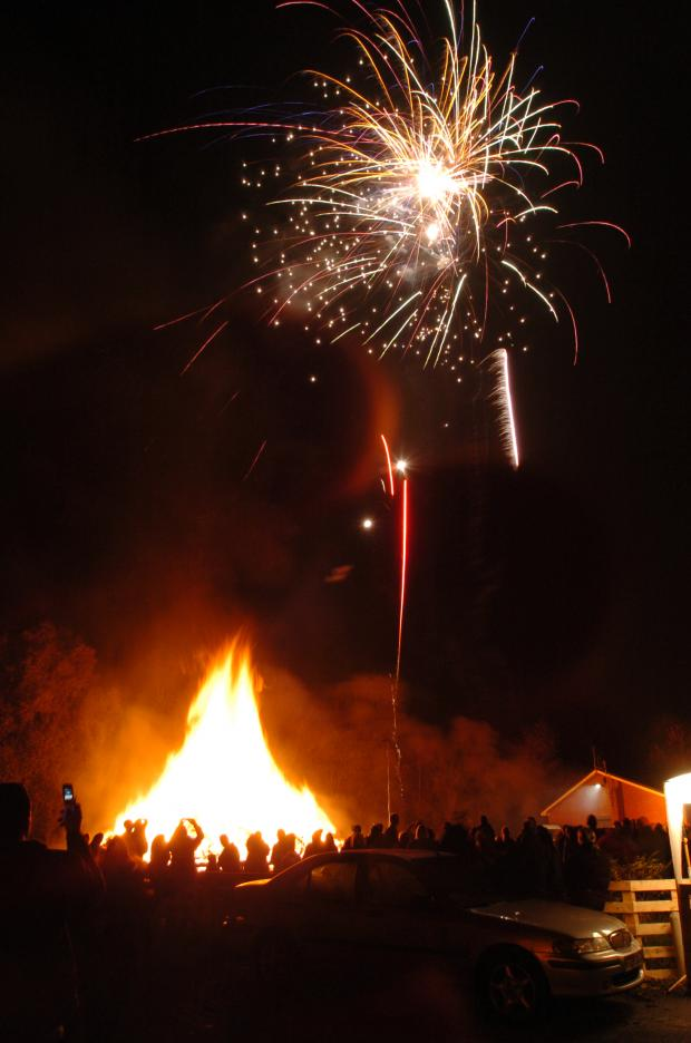 Warning issued for bonfire night