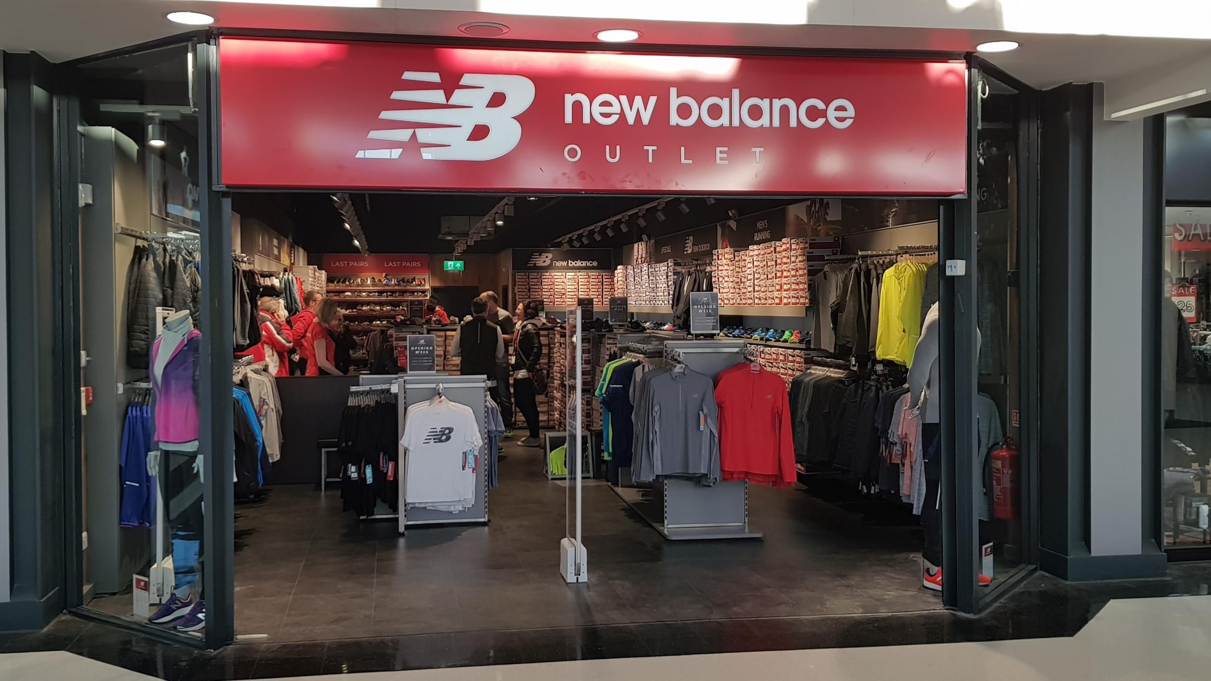 New Balance store at Birchwood Shopping Centre