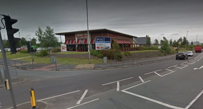 Google Maps: Frankie and Benny's