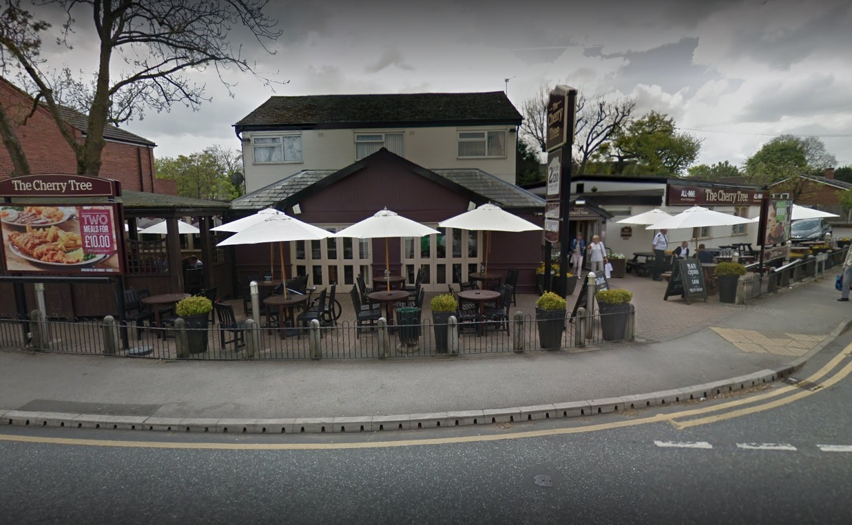 Google Maps image: The Cherry Tree pub
