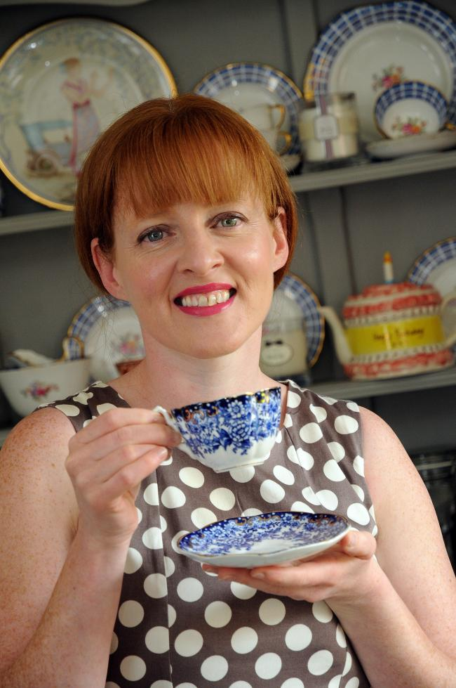 Columnist Jen Perry from Room 40 Afternoon tea