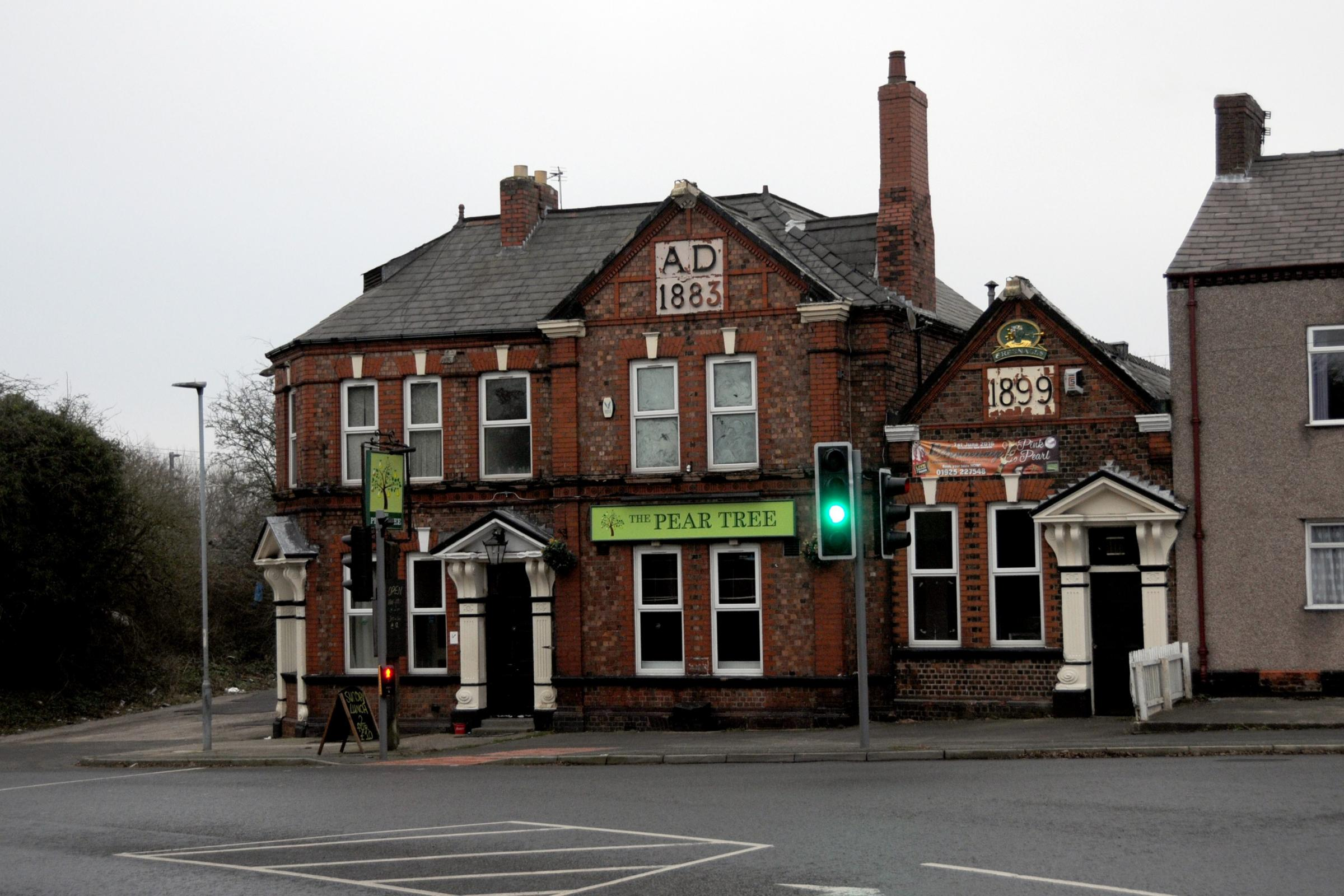 The Pear Tree in Collins Green has been given a hygiene rating of zero by the Food Standards Agency.