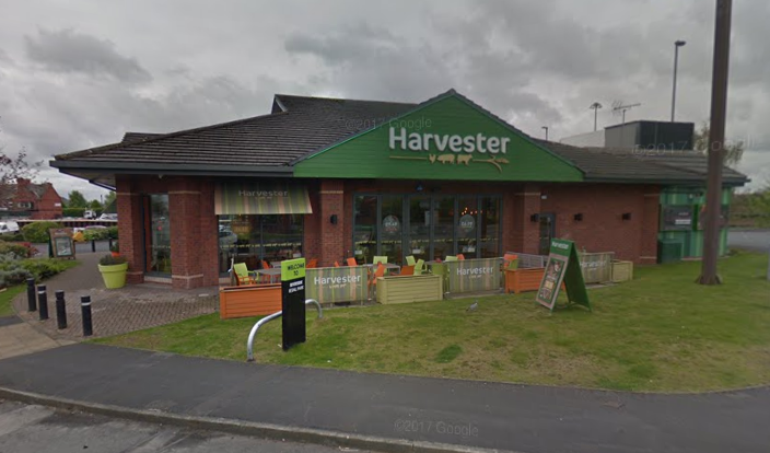 The Harvester restaurant on Riverside Retail Park has permanently shut. Picture by Google Maps.