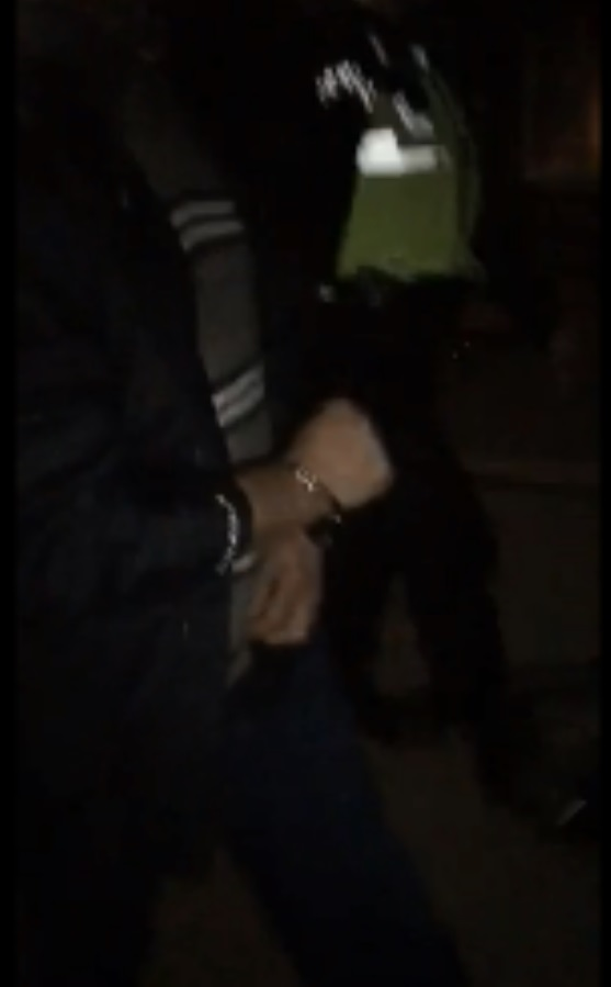 VIDEO: Suspect arrested after sting by self-styled 'paedophile hunters' in Orford