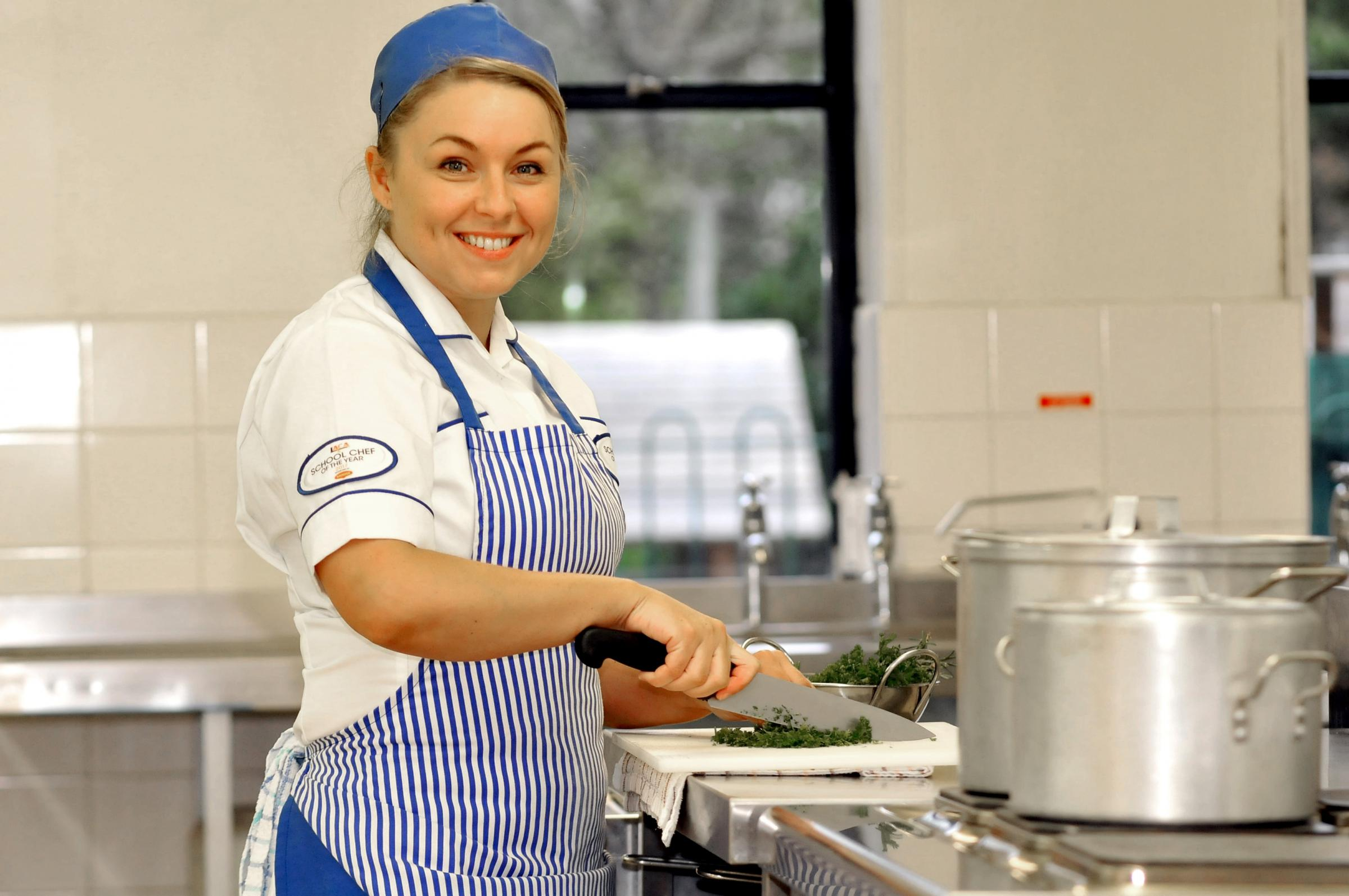 School cook hoping to win chef competition