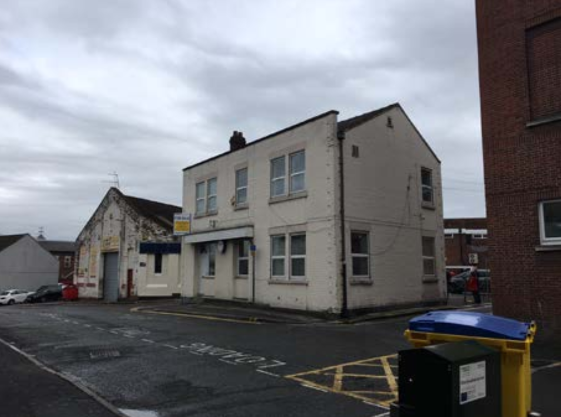 The former GMB trade union offices on Town Hill will be turned into six apartments, a development that will see an extra storey added to the building.