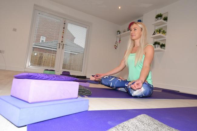 Gemma Linaker Opens Lemonstem Yoga Studio In Garage Of Family Home