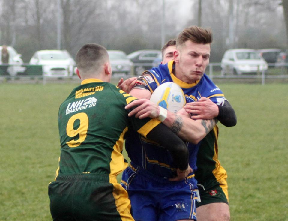 Crosfields and Woolston Rovers battled it out on Saturday