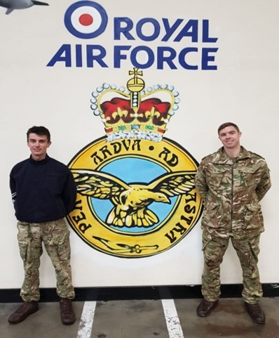 Corporal Tom Sherrington, 31, will join Corporal Gary Binns, 32, from Yorkshire, to run from John O'Groats to Land's End