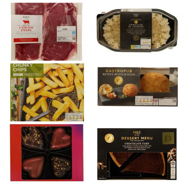 Dine In Deals For Valentine S Day 2018 From Marks And Spencer Morrisons Asda Tesco And Iceland Warrington Guardian