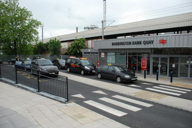 Police attended Bank Quay Station at around 6.30pm yesterday, Thursday.